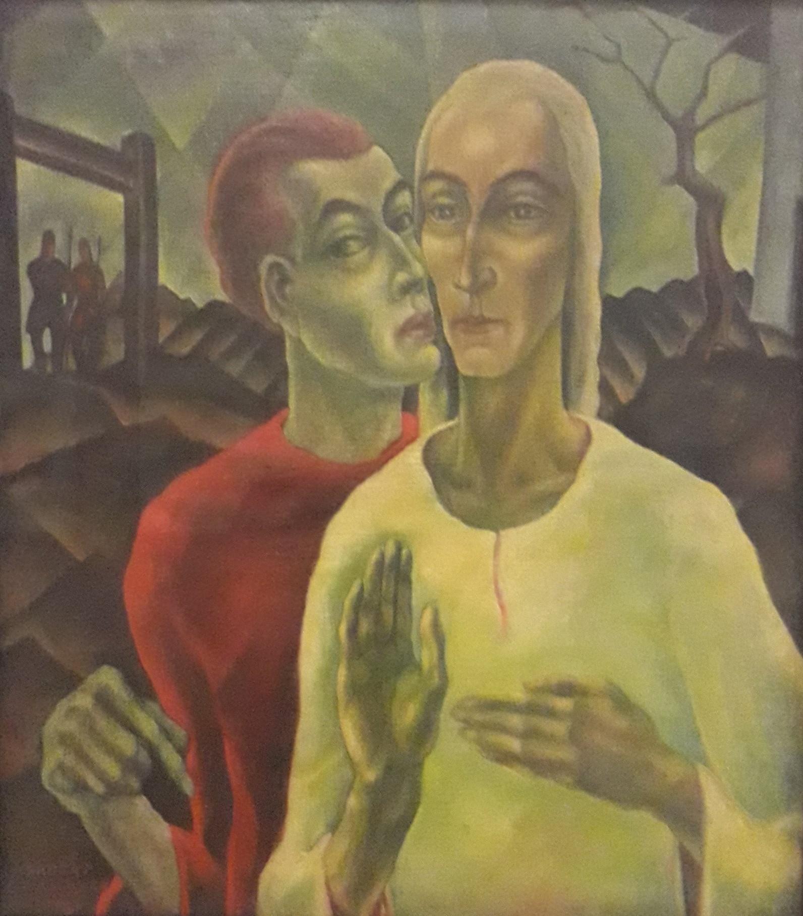 Herbert Gurschner (1901-1975) - Judas' Kuss