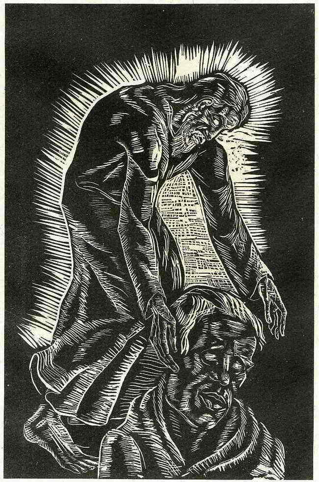 Wilhelm Groß - Zyklus Jesaja1